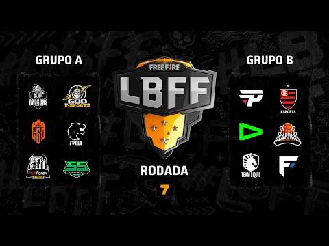 LBFF - Rodada 7 - Grupos A e B | Free Fire