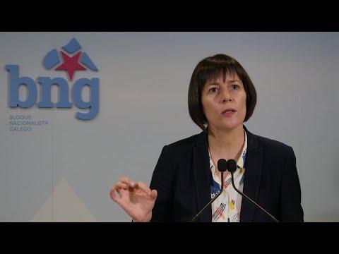 """Ana Pontón: """"Hai que nacinalizar ALCOA para salvar o emprego e a industria"""""""