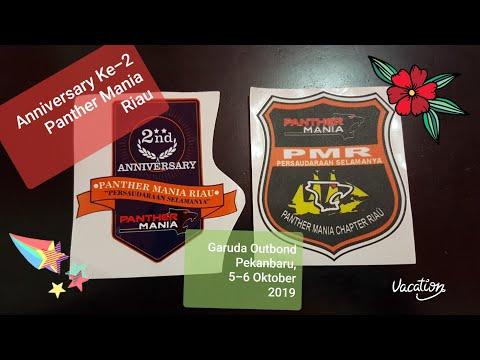 Anniversary Ke-2 Panther Mania Riau (PMR) Garuda Outbond Pekanbaru