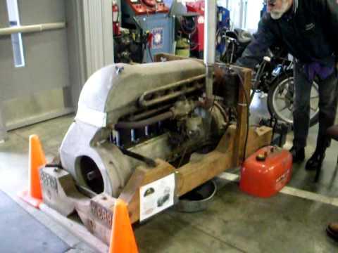 1923 Franklin Series 10 B Engine Start Up Youtube