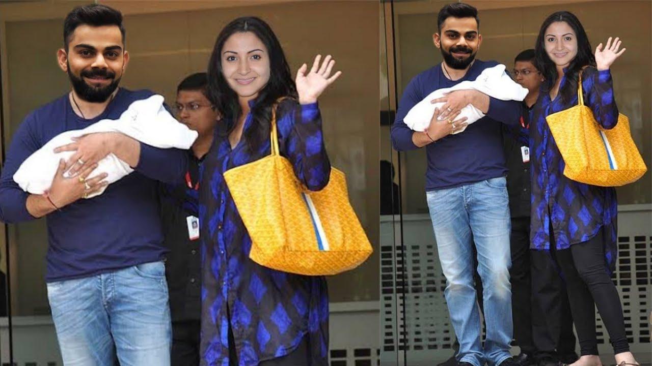 Anushka Sharma Finally Discharge from Hospital with Cute Baby Girl Anvi and Virat Kohli