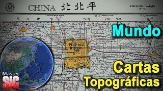 Descargar Cartas Topográficas, mapas del Mundo-Google Earth | MasterSIG Free HD Video