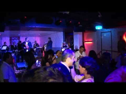 Cafe Sevilla San Diego with DjReyCua el sabroso live on stage Guicho E La Tribu 2011