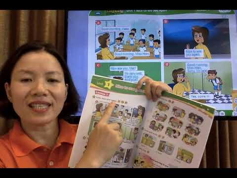 HỌC TIẾNG ANH LỚP 4 - Unit 1 - Lesson 1 & Lesson 2 - Cô Phượng - Thaki English