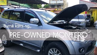 We Bought a Secondhand Montero