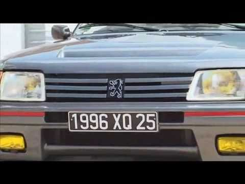peugeot 205 turbo 16 s rie 200 youtube. Black Bedroom Furniture Sets. Home Design Ideas