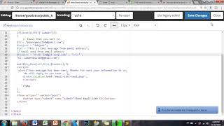 PHP mail() Function | How to configure eamil form html with PHP and CC?