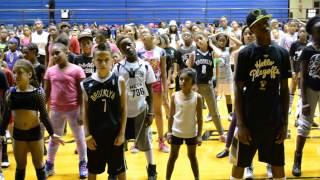 Brooklyn Nets Kids Dance Team auditions - part 1