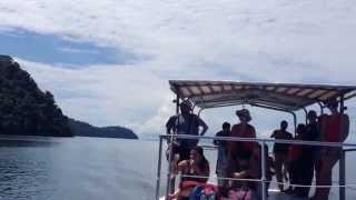 Panoramic view of an excursion to Golfo Dulce from Finca Exotica