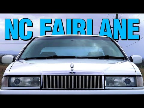 Australia's Biggest Land Yacht - The Ford NC Fairlane