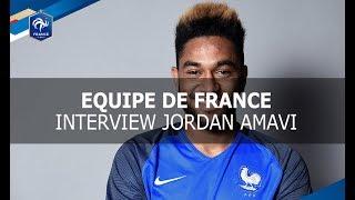 Equipe de France, Jordan Amavi &quotJe n&#39ai pas de mots&quot, interview I FFF 2017