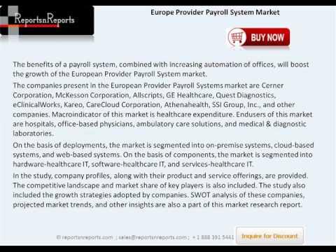 European Provider Payroll System Market Growth, Trends & Insights