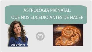 ASTROLOGÍA PRENATAL: QUE NOS SUCEDIÓ ANTES DE NACER