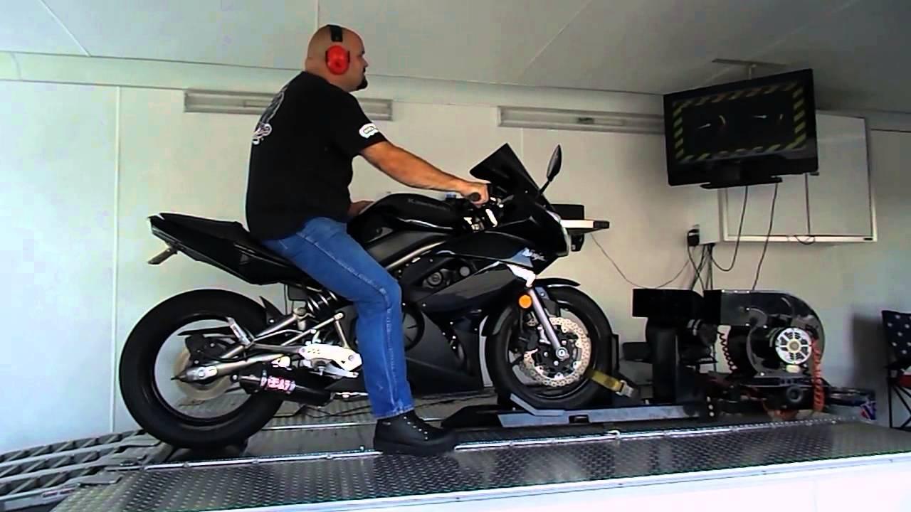2009 Kawasaki Ninja 650R Dyno Tune