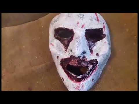 Como Hacer Una Mascara Con Papel