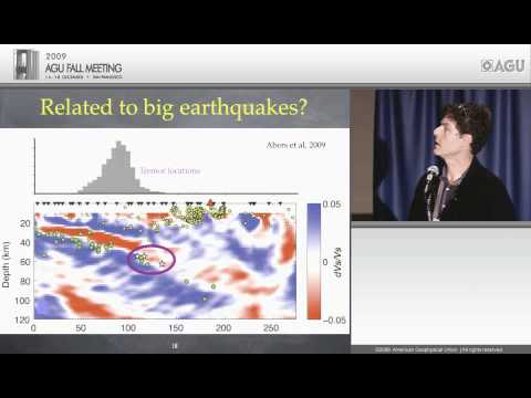 S24B - Gutenberg Lecture - Tremor, the Curious Third Wheel of Fault Motion