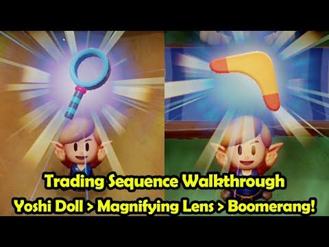Trading Sequence + Boomerang + Final Dungeon Solution - The Legend Of Zelda: Link's Awakening