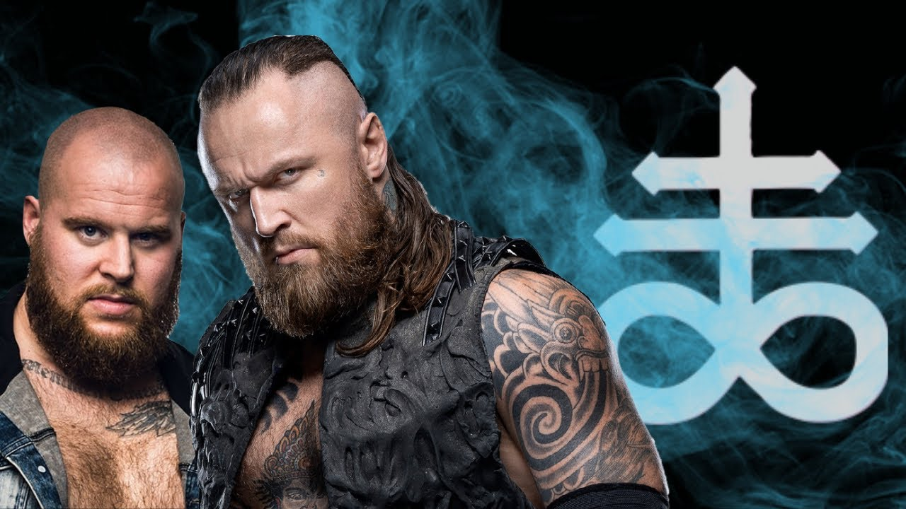 Aleister Black tears it up in tag team action | SUMERIAN DEATH SQUAD
