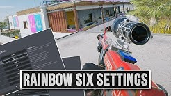 Die besten Rainbow Six Siege Settings - Mehr FPS und leichter Gegner erkennen!