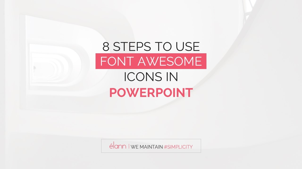 8 Easiest Steps To Use Font Awesome Icons In Powerpoint Presentation Template Youtube