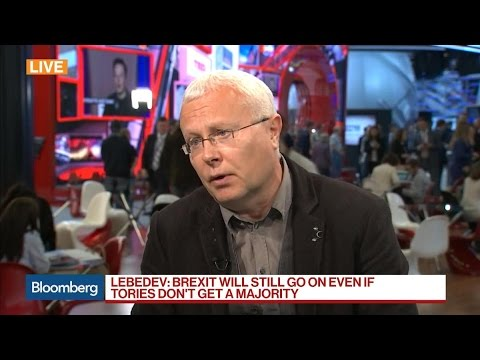 Lebedev Says U.K. Mood Switching Towards Labour Party