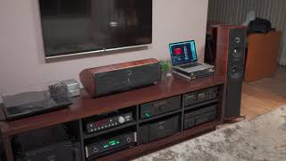 Broadway song on Tidal and Mcintosh D150 via Optical