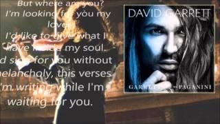 """""""Ma Dove Sei"""" - David Garrett & Andrea Bocelli"""