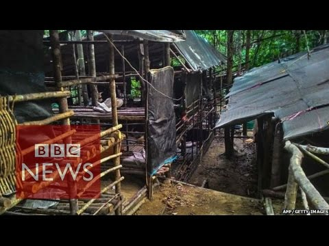 Malaysia: Jungle camps where traffickers raped & killed - BBC News