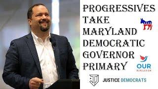 2018 Maryland Democratic Governor Primary Election Result - Ben Jealous vs Rushern Baker