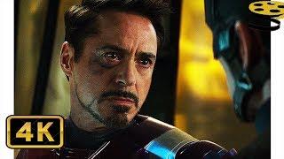 Тони Старк узнаёт Правду о Смерти его Родителей | Первый мститель: Противостояние | 4K ULTRA HD