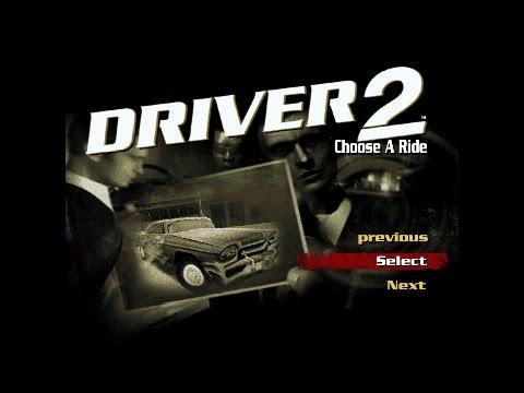 Driver 2 Unity 5 prototype intro, main menu and in-game menu preview