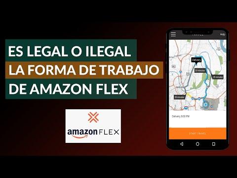 ¿Es Legal o Ilegal la Forma de Trabajar que Tiene Amazon Flex? Descubre toda la Verdad