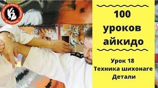 100 уроков айкидо с игорем Дмитриевым.  Шихонаге.  Детали