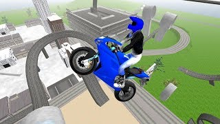 Stunt Motorbike Race 3D (by i6 Games) Android Gameplay [HD]