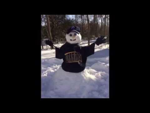 Pocomoke Middle School's Snowman Challenge