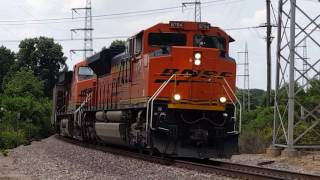 Part 1: BNSF Railway Action on the Cuba & River Subdivisions in St. Louis, Missouri