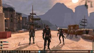 Dragon Age 2: Party Banter: Aveline & Fenris [complete]