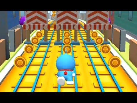 Trò chơi Doremon chạy lụm vàng cu lỳ chơi game