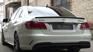 Глушитель на Mercedes E300 W212