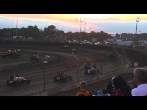 Kokomo Speedway Sprint Car Feature - 6/29/14