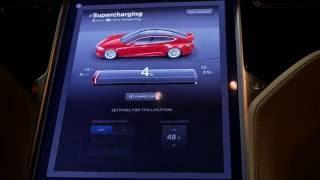Tesla supercharging error