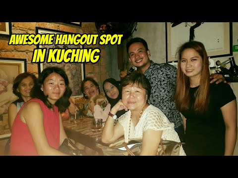 Your Pinoy tour guide at The Junk - Best bar in Kuching, Malaysia!!!