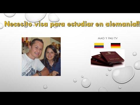 Necesito visa para estudiar en Alemania!!!.