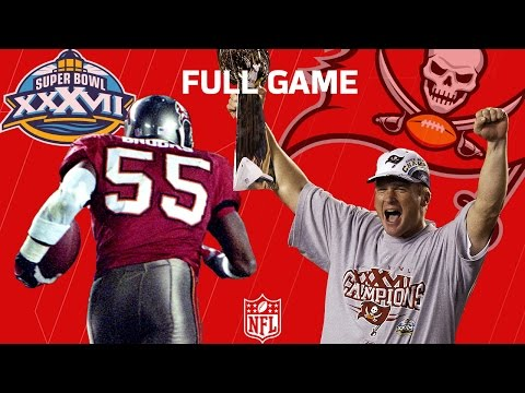 "Super Bowl XXXVII: ""The Jon Gruden Bowl"" Raiders vs. Buccaneers (FULL GAME) 