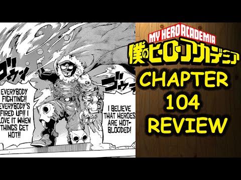 [U.A Crushing!] My Hero Academia 104 Manga Chapter Review