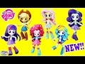 My Little Pony Equestria Girls Minis Dolls Mane 6 Figures NEW Surprise Egg and Toy Collector SETC