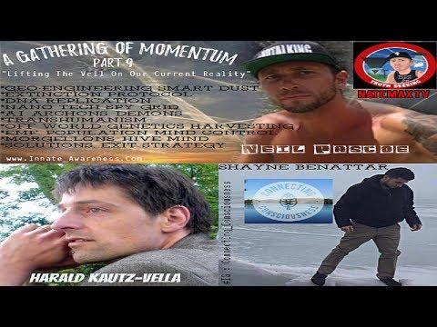 """A Gathering Of Momentum Part 9"" Harald Kautz Vella Shayne Benatter"
