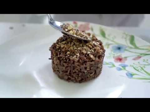 Torino di riso rosso con funghi Shiitake IoBoscoVivo