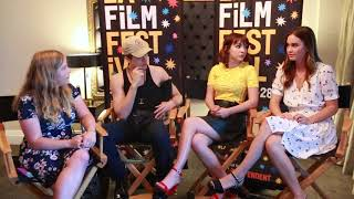 Dylan Sprouse, Hannah Marks, and Liana Liberato Interview - Banana Split LAFF!