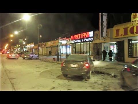 CHICAGO'S SOUTH SIDE ON A FRIGID NIGHT